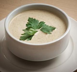 Plíčková polévka se zeleninou recept