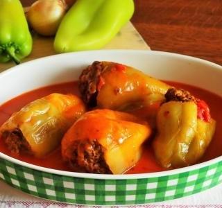 Plněné papriky