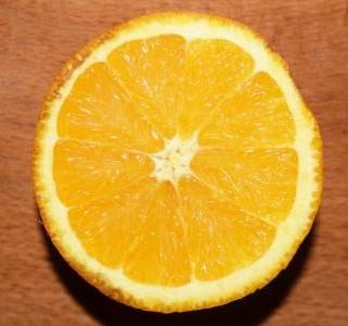 Pomerančový moučník