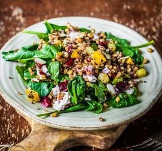Quinoa salát s batáty