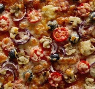 Rozpečená rajčata se sýrem