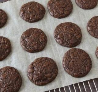 Rychlé čokoládové sušenky