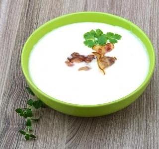 Rychlá sýrová polévka