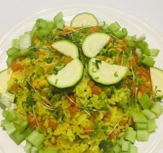 Rýže na kari se zeleninou recept