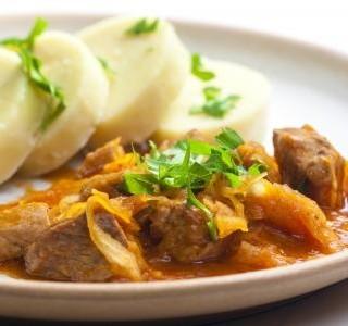 Recept Segedínský guláš