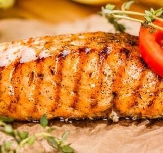 Snadný grilovaný losos