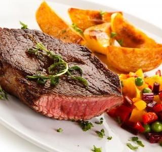 Steak s medovou omáčkou