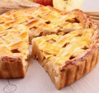 Sváteční jablečný koláč recept