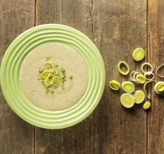 Sýrová polévka s pórkem recept