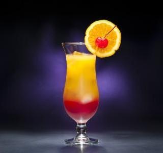 Tequila sunrise recept