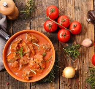Vepřové maso na paprice recept