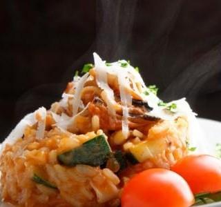 Recept Zapečené rizoto s parmezánem