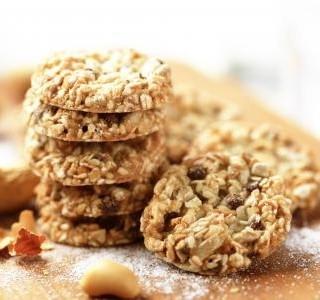 Zdravé křupavé sušenky recept