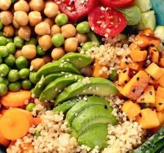 Zeleninová mísa pozdního léta recept