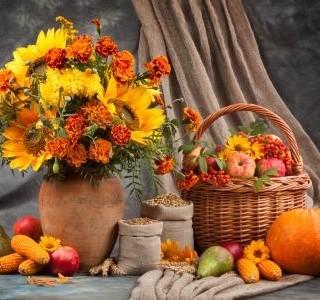 Podzim  je čas vonící dozrávajícím ovocem a podzimní zeleninou